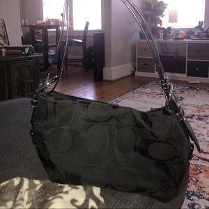 Coach Purse w/ Adjustable Strap